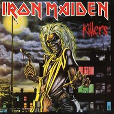 IRON MAIDEN Killers 180gm Vinyl LP REMASTERED NEW & SEALED