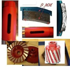 """3"""" 75mm Diamond Core Drill Bit Zero Tolerance Drum 4"""" Turbo Cup Granite concrete"""