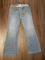 Women's Armani Exchange Denim Jeans ~ Blue ~ Sz 6 ~ Boot Cut ~ Low Rise ~ Cute!