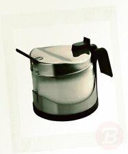 "Ibili ""clasica"" Sugar Bowl Set With Spoon Silver/transparent 250 Ml"