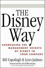 The Disney Way by William Capodagli, Lynn Jackson, Good Book