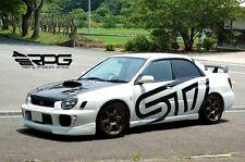 RPG JDM STi Version 1 FRP Front Lip for Bugeye 02-03 Subaru Impreza WRX GDA