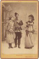 Preziosi, Altre,Nadaud Attori Francesi Foto Nadar Armadio Vintage Ca 1890