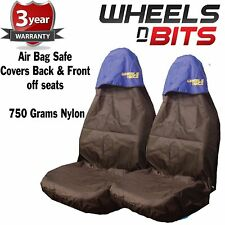 Car Seat Cover Waterproof Nylon Front Pair Protectors to fit Opel All Models