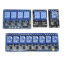 1 2 4 8 Channel 5V Relay Shield Module Board for Arduino Raspberry Pi ARM.