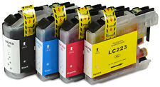 4 Ink Cartridge for Brother LC223 DCP-J4120DW MFC-J5625DW MFC-J5720DW T