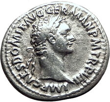 DOMITIAN Original 88AD Rome Authentic Ancient Silver Roman Coin MINERVA i64471
