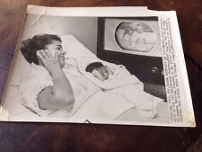 Vintage 1956 Floyd Patterson Champions Maternity New Daughter Photo