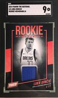 Luka Doncic 2019 Panini The National Convention Rookie Memorabilia SGC 9 Mint