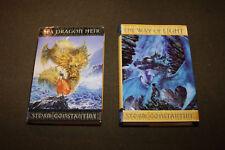 Lot of 2 Storm Constantine HCs - Sea Dragon Heir & The Way of Light