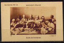 Chromo-Nos Colonies-Ecole de Broderies-Bergougnan-Mazagan-Maroc-Réf.178