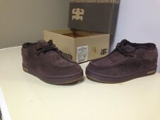 Brand new in box Mens Ipath cats brown size 7 with Sherpa lining