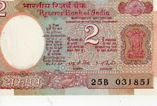 INDIDA 1976 2 RUPEES CURRENCY UNC