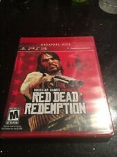 Red Dead Redemption (Sony PlayStation 3 PS3, 2010) GREATEST HITS RED BOX