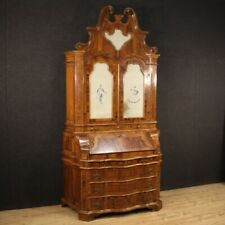 Trumeau Cupboard Furniture Fore Secretary Desk Wooden Antique Style Secrétaire