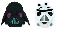 Angry Birds Star Wars Darth Vader and Storm Trooper Plush Soft Toy FREE UK P&P
