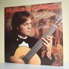 """33T Nicolas DE ANGELIS Disque LP 12"""" QUELQUES NOTES POUR ANNA Guitare DELPHINE"""