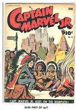 Captain Marvel Jr. #20 (Jun 1944, Fawcett) vg/f
