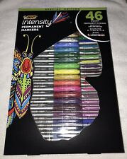 NEW - BIC INTENSITY PERMANENT MARKER SPECIAL EDITION 46 COUNT ASSORTED COLORS