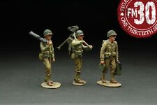 FIGARTI PEWTER WW2 AMERICAN RMA-013 RED BULL 30 CALIBER MACHINE GUN TEAM MIB