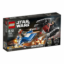 Lego ® 75196 Star Wars: a-Wing ™ vs. tie Silencer ™ microfighters 7221762 nuevo