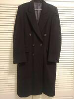Mens 100% cashmere coat (Nicholas of London)