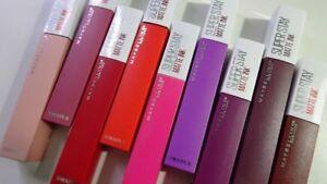 Maybelline Super Stay Matte Ink Lip Color [ B2GO Free on all Lip Color ]