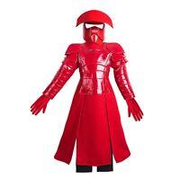 Disney Store Star Wars Praetorian Guard Red Deluxe Costume Halloween Last Jedi