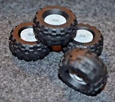 Tires - (4) 37x18 R Lego Tires with Lt Gray Rims ~ NEW ~ Truck, SUV or Car tires