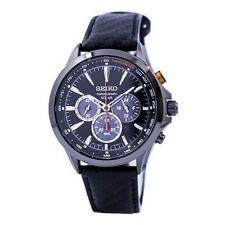 Relojes de pulsera con fecha de acero inoxidable Seiko Solar