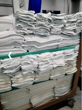 400 used hospital pillow cases good condition freshly laundered = 200 yards matl