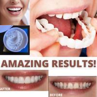 Snap On Instant Teeth Veneers Smile Cosmetic Perfect Instant Flex Fit Comfort