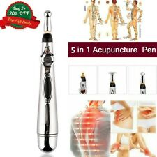 Acupuncture Stimulator Laser Therapy Zen Pen Electric Pulse Acupoint Massager US