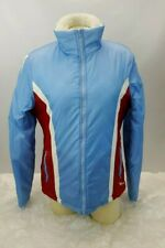 ROXY Ski Snowboard Winter Jacket Women Size Large Lightweight Red White Blue