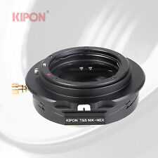 Kipon Tilt and Shift Adapter for Nikon F Mount Lens to Sony E Mount Camera
