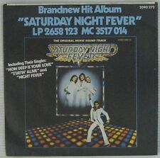 Saturday Night Fever 45 tours Bee Gees John Travolta 1977 Allemagne
