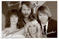 ABBA ++Autogramme++ ++POP Legende 70er Jahre++4