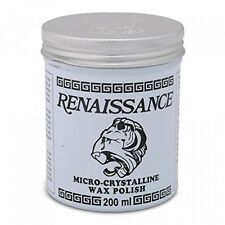 Renaissance Wax 200ml, Protects Furniture, Leather, Marble, Metal, and Paintings