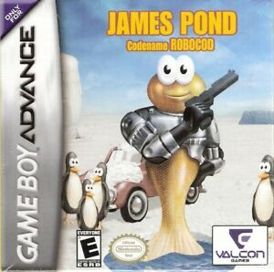 James Pond Codename RoboCod Nintendo Game Boy Advance GBA 2005 Video Game