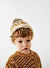 SOLD OUT Zara Toddler Purl Knit Sweater, Ochre, Size 4-5 Years