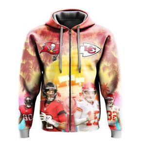 Nfl Superbowl Kansas City Chiefs T Shirt  VS Nfl  Tamapa Bay Buccaners  2021 4xl