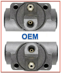 2 Drum Brake Wheel Cylinders ACDELCO Rear L& R Replace GMC OEM # 18004880
