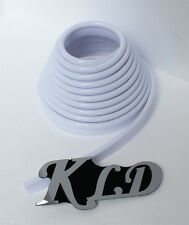 "4 yards3/5"", 5mm Upholstery white VINYL PVC PIPING WELT repair  speaker cabinet"