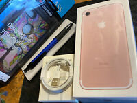 Apple iPhone 7 (32gb) AT&T/ Cricket (A1778) Rose Gold PiNK: Apple-Care Brand-New