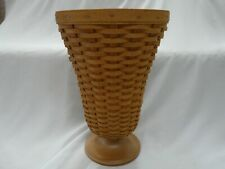 New Listing2003 Longaberger Collectors Club Floral Vase Basket with Protector