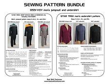 Star Trek Sewing Pattern Bundle - Starfleet uniform - DS9, VOY, NEM (men's)