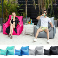 Inflatable Air Sofa Lazy Bags Lounge Waterproof Indoor Outdoor Camping Chair