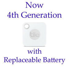 2018 Tile GPS 4th Gen. Bluetooth Tile Mate Mini Tracking w/ Replaceable Battery