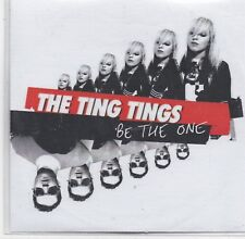 The Ting Tings-Be The One Promo cd single
