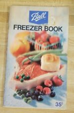 BALL BLUE BOOK 1973 canning freezing recipes jars freezer preserve Prepper